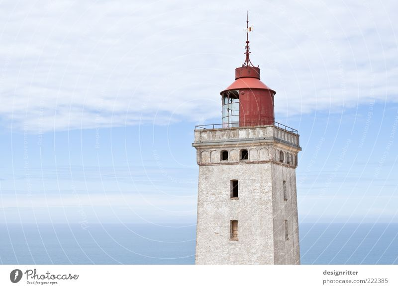 Old Swede, uhhh ... Dane Weather Beautiful weather North Sea Ocean Lønstrup Denmark Tower Lighthouse Tourist Attraction Landmark Tall Strong Responsibility