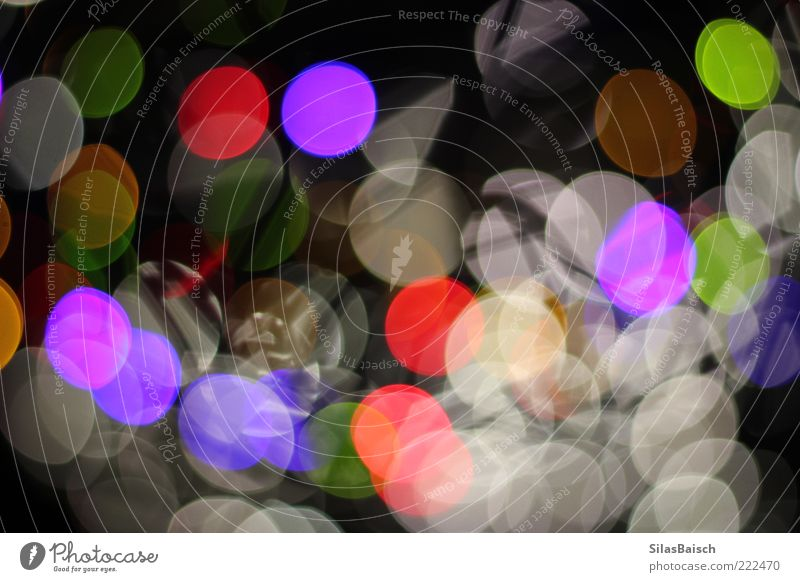 disco lights Lamp Light Art Bright Crazy Life Colour photo Subdued colour Multicoloured Copy Space middle Deep depth of field Round Structures and shapes