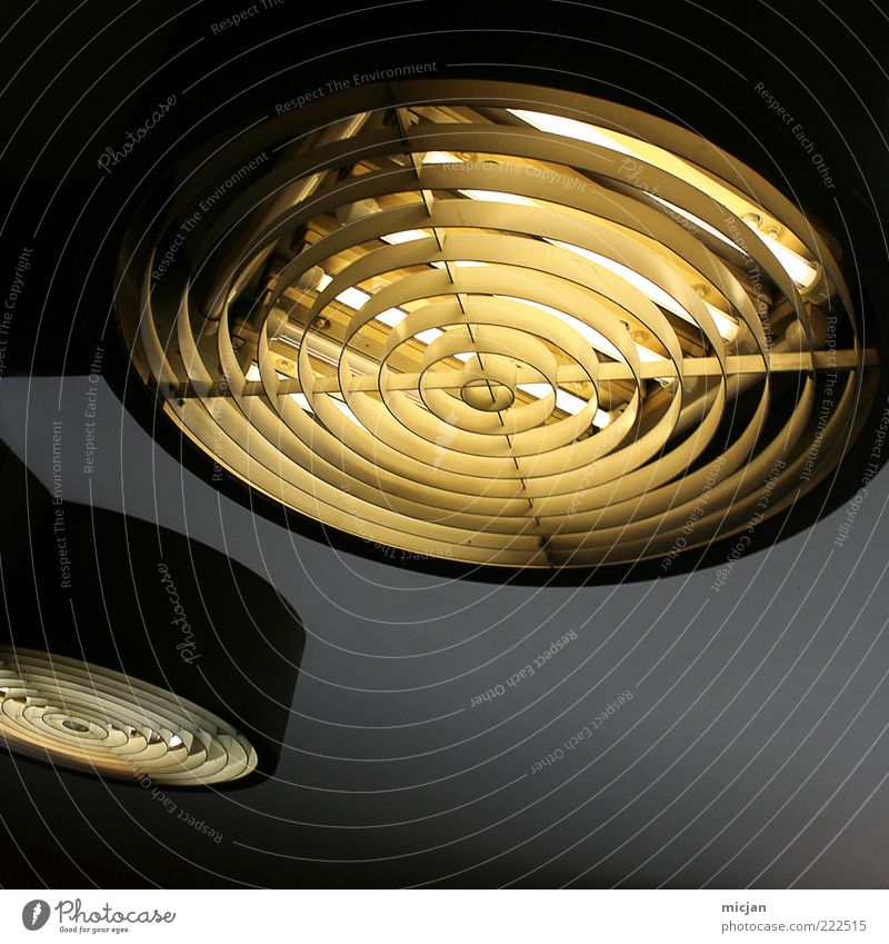 Black Yellow Dark Gray Lamp Bright Lighting Energy Electricity Future Circle Illuminate Technology Round Clean Grating