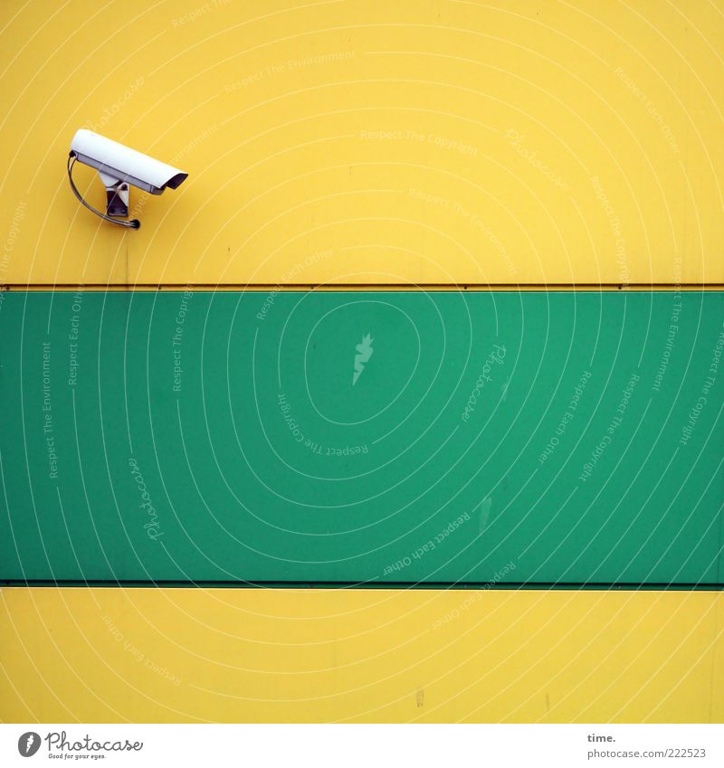 Green Yellow Architecture Facade Safety Might Cable Open Stripe Threat Observe Creepy Curiosity Manmade structures Watchfulness Economy
