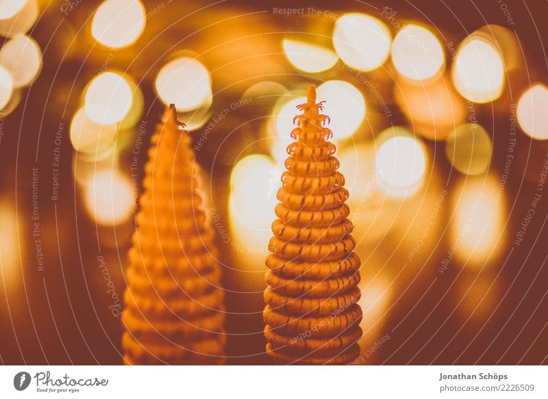 Christmas Decoration with Bokeh II Handcrafts Christmas & Advent Warmth Forest Wood Bright Moody Hope Tradition Erz Mountains Erzgebirgskunst Delicate