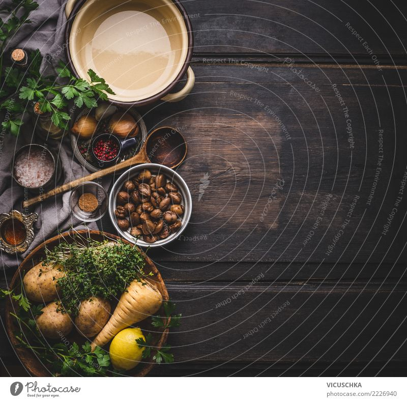 Healthy Eating Autumn Background picture Style Food Design Living or residing Nutrition Table Herbs and spices Kitchen Vegetable Organic produce Restaurant Bowl