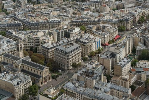 Paris from above Vacation & Travel Tourism Trip Sightseeing City trip Montparnasse Capital city Downtown Old town Pedestrian precinct Populated