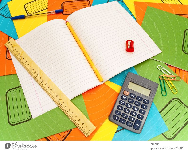 Office Supplies School Line Paper Division Tool Buttons Pencil Financial Industry Numbers Calculation Data Accuracy Blank Mathematics Equality