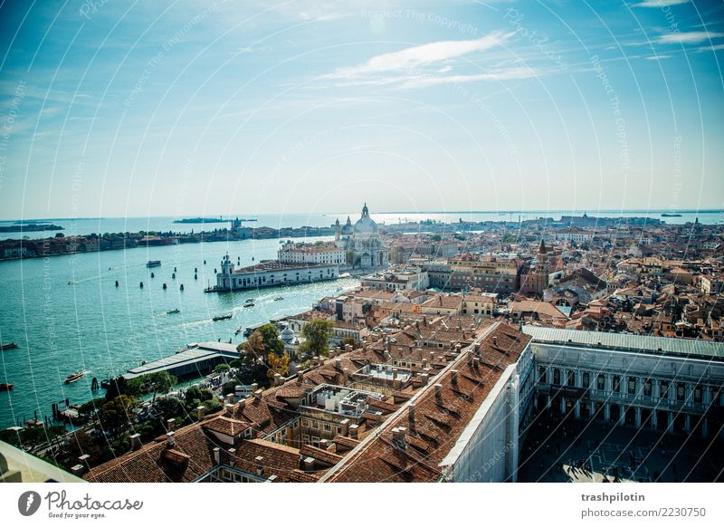 View of Venice Vacation & Travel Tourism Trip Adventure Far-off places Freedom Sightseeing City trip Cruise Beautiful weather Italy Europe Town Port City