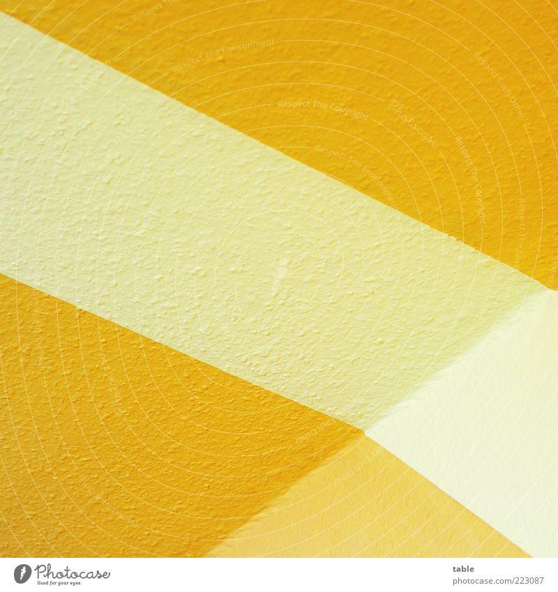 White Yellow Wall (building) Style Wall (barrier) Orange Room Flat (apartment) Design Arrangement Lifestyle Perspective Esthetic Corner Stripe Decoration