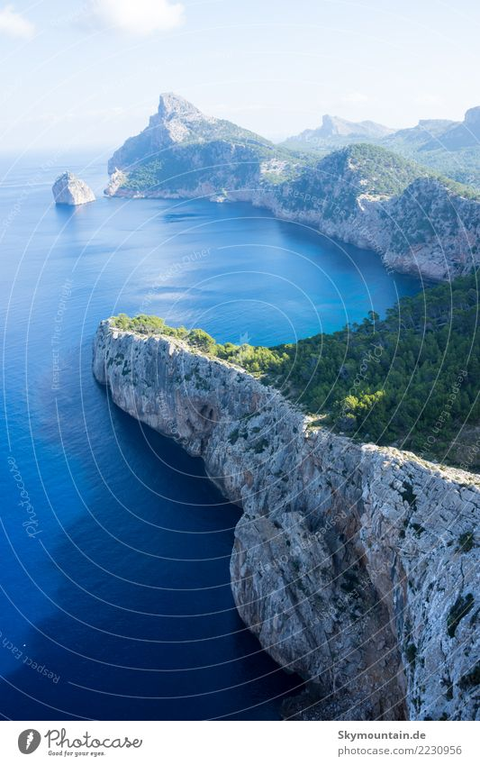 Holiday, Mallorca, Beach, View, Rock, Nature, Travel Hill Mountain Coast Bay Ocean Island Majorca Europe Discover Relaxation Vacation & Travel Emotions Moody