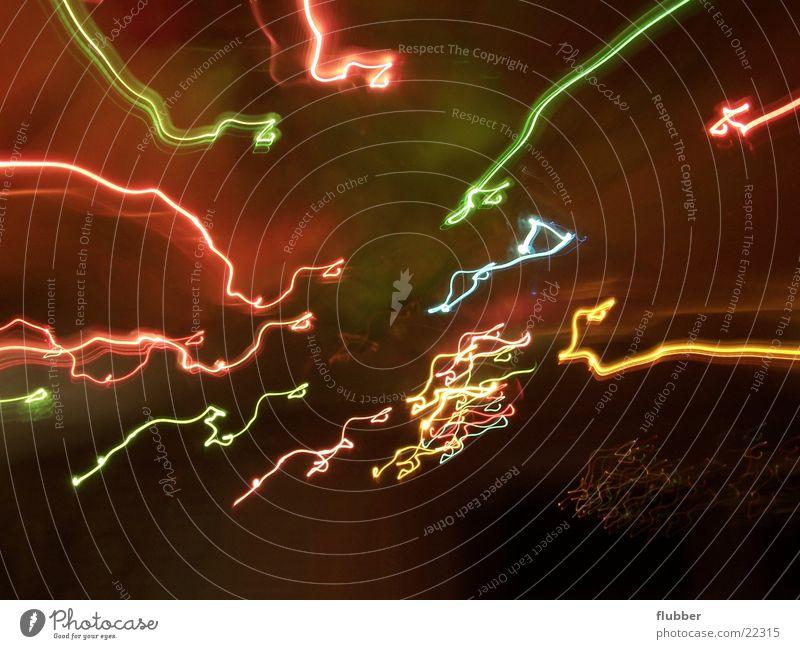 more erroneous Long exposure Light Ghost light Lamp Light track Multicoloured Circle