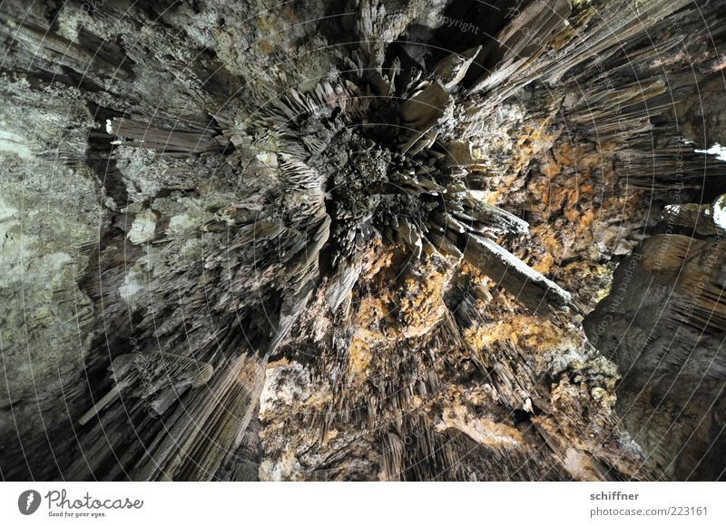 Distant galaxies... Elements Earth Dark Cold Thorny Stalactite Stalactie cave To fall Dynamics Central perspective Beautiful Uniqueness Interior shot Abstract