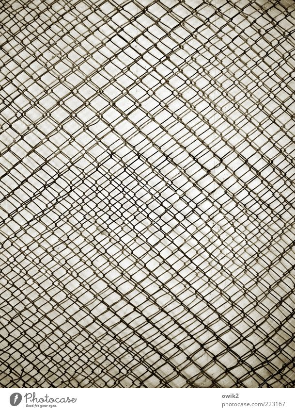 White Black Gray Metal Art Crazy Esthetic Net Metalware Simple Thin Firm Exceptional Many Wire Attachment