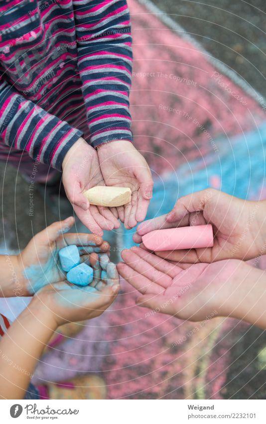 Child Human being Vacation & Travel Blue Colour Red Girl Yellow Boy (child) Friendship Infancy Team Toddler Teamwork Kindergarten Chalk