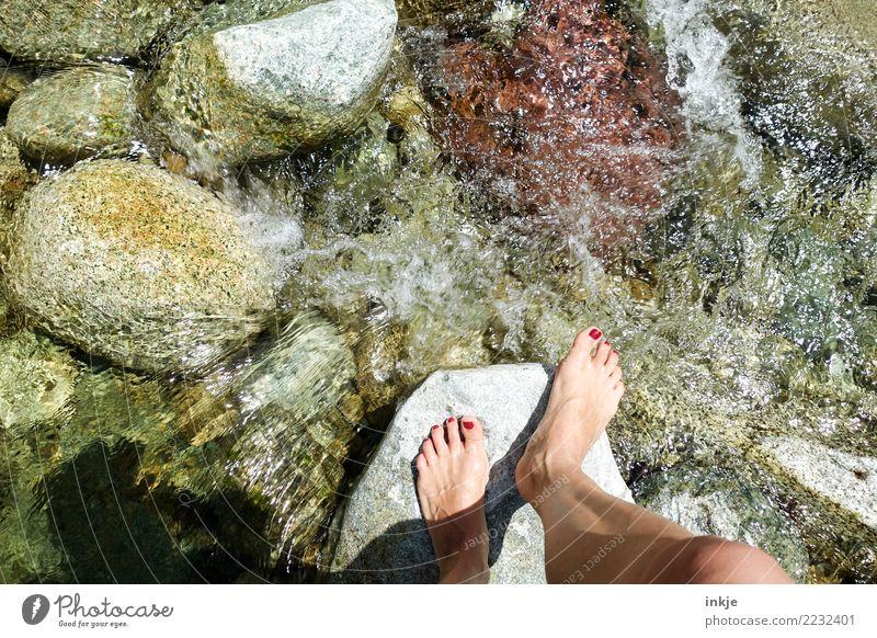 """SUNEEEEEEEE SHATTEEEEENNNNNN"" Lifestyle Joy Beautiful Wellness Harmonious Well-being Senses Leisure and hobbies Trip Summer Hiking Feminine Woman Adults Feet"