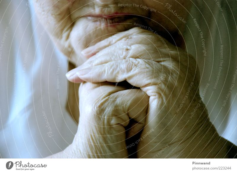 Human being Woman Old Hand Face Adults Life Senior citizen Head Sadness Mouth Skin Natural Fingers Hope Grief