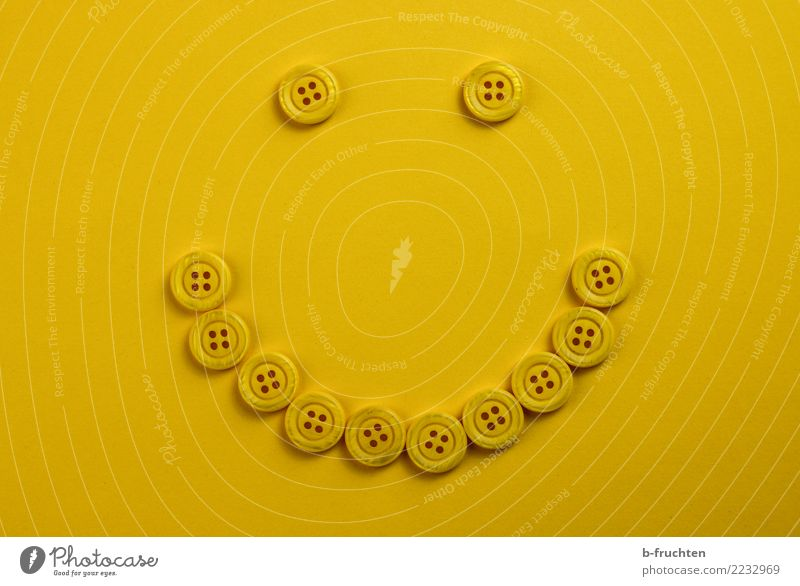 smile Eyes Mouth Paper Sign Smiling Laughter Simple Happiness Yellow Joy Sympathy Friendship Idea Buttons Icon Button eyes Buttonhole Lie Facial expression
