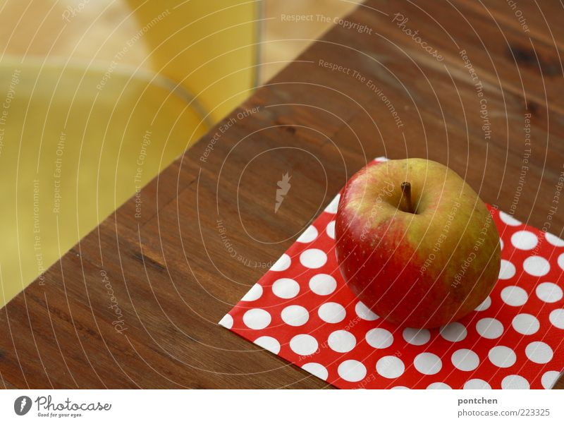 Yellow Wood Healthy Brown Lie Pink Food Nutrition Esthetic Decoration Table Chair Point Apple Kitsch Hip & trendy