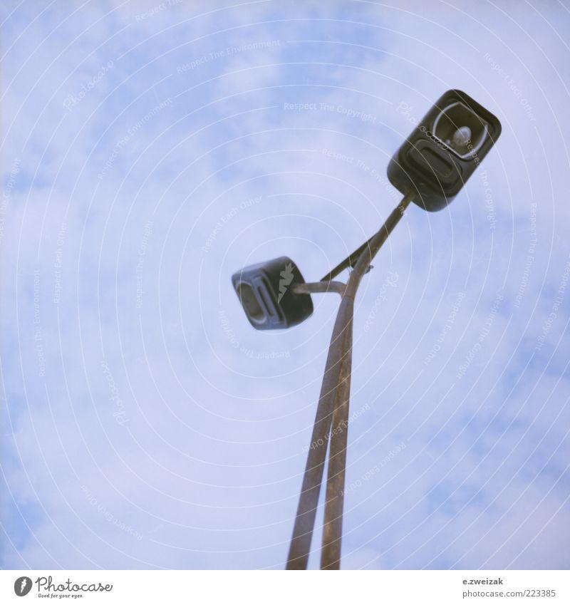 Sky Old Thin Lantern Steel Street lighting Electric bulb Lamp post