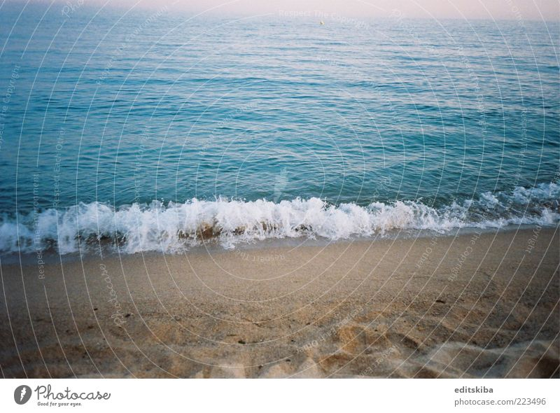 Ocean Blue Beautiful Sun Vacation & Travel Summer Beach Freedom Trip Tourism To enjoy Breathe Summer vacation Barcelona Nature