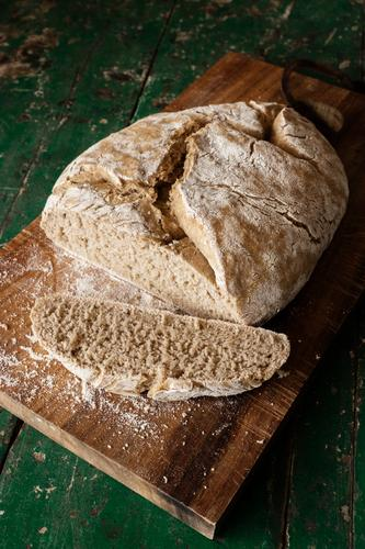 you can cut yourself a slice of it. Food Grain Dough Baked goods Bread Nutrition Eating Organic produce Vegetarian diet Fresh Healthy Delicious Baking
