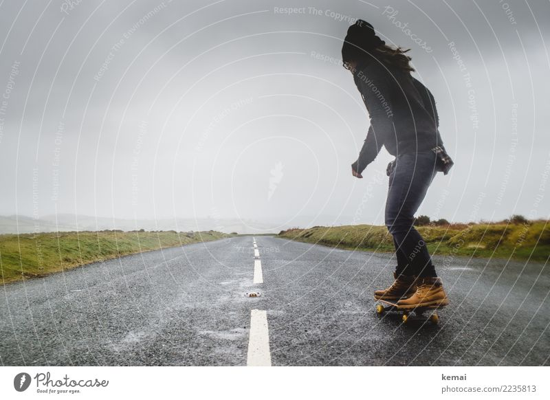 Skate the Moor Lifestyle Leisure and hobbies Playing Vacation & Travel Trip Adventure Far-off places Freedom Skateboard Skateboarding Human being Adults 1