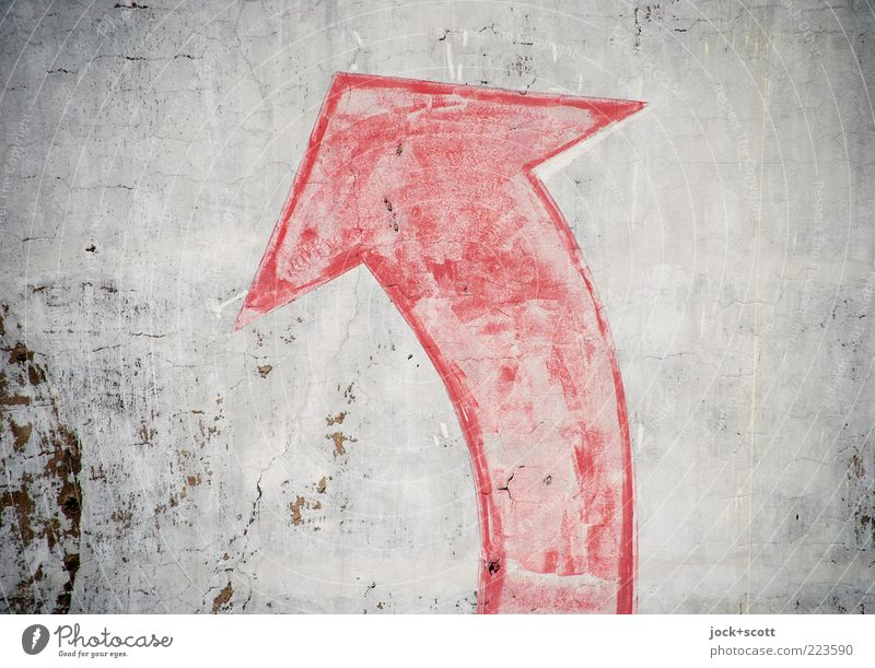 (Alt+Arrow right) Sign Signs and labeling Rotate Old Gray Red Esthetic Ambitious Allegory Associative Clue Painted Weathered Illustration Ravages of time