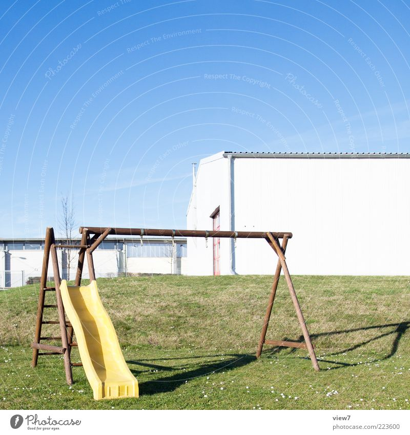 Only child. Environment Landscape Beautiful weather Garden House (Residential Structure) Industrial plant Wall (barrier) Wall (building) Facade Sign Authentic