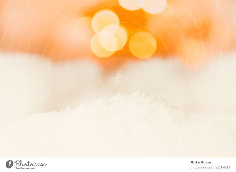 Christmas & Advent Beautiful White Relaxation Calm Warmth Life Autumn Background picture Snow Art Feasts & Celebrations Orange Design Contentment Wild