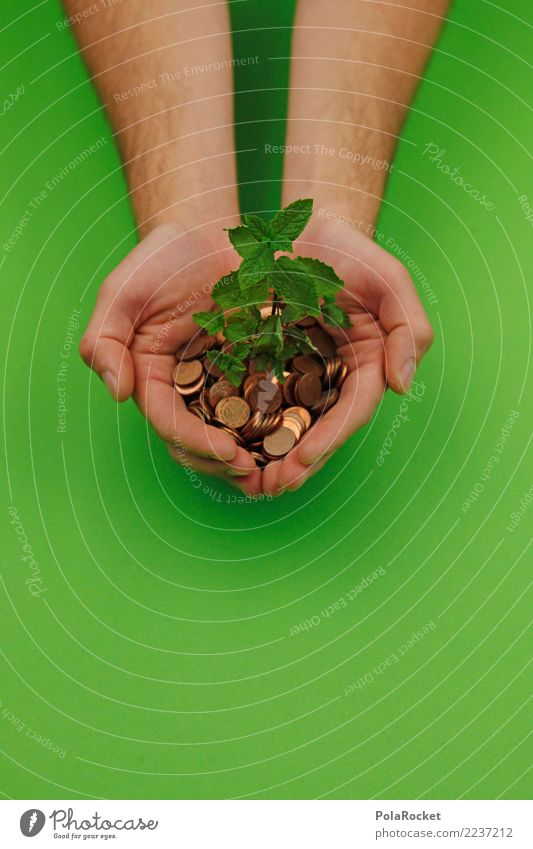 Green Hand Environment Art Growth Creativity Help Protection Organic produce Environmental protection Sustainability Ecological Organic farming Share Biomass