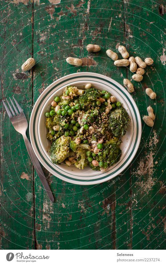 Eating Healthy Food Nutrition Fresh Delicious Vegetable Organic produce Bowl Diet Vegetarian diet Lunch Vegan diet Peas Fork
