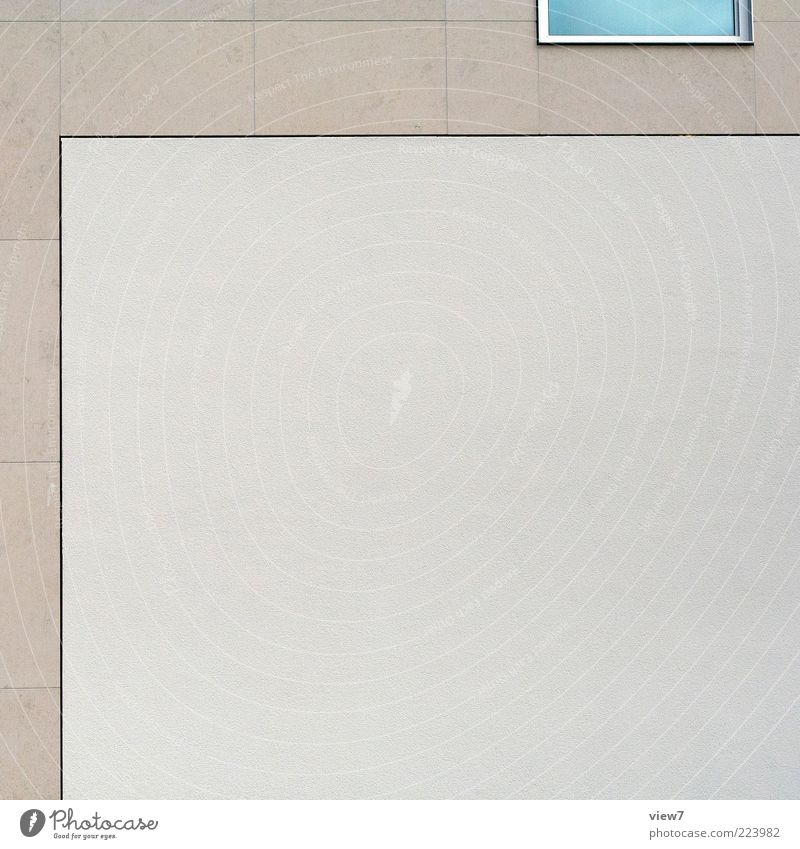 House (Residential Structure) Far-off places Window Wall (building) Gray Stone Building Wall (barrier) Line Facade Arrangement Concrete Modern Esthetic