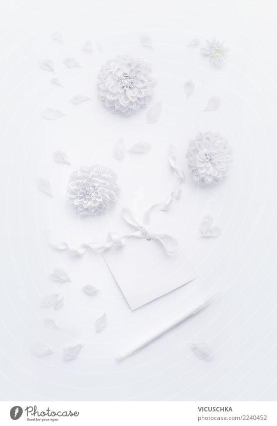 White Flower Leaf Blossom Love Background picture Style Feasts & Celebrations Design Decoration Elegant Creativity Birthday Sign Wedding Symbols and metaphors