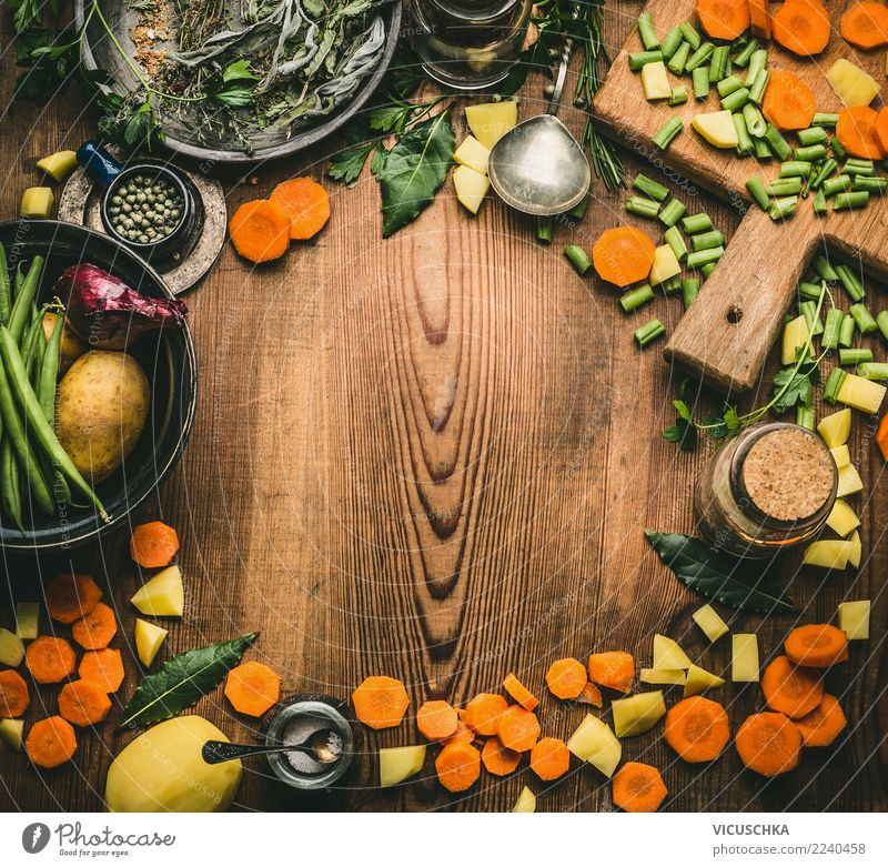 Healthy Eating Food photograph Background picture Style Design Nutrition Table Herbs and spices Kitchen Vegetable Organic produce Restaurant Crockery