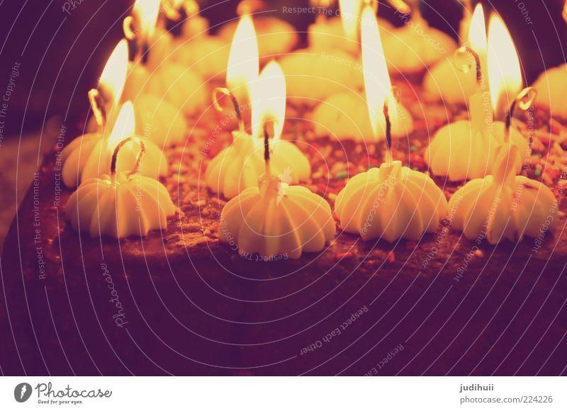 Happy Birthday Jesus Food Cake Chocolate Candle Candlelight Candlelit ambience Birthday cake Candlewick Fragrance Illuminate Delicious Brown Yellow