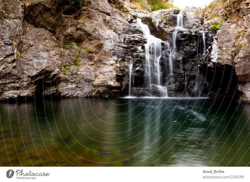 waterfall Relaxation Vacation & Travel Trip Summer Island Mountain Nature Landscape Elements Water Rock Pond Lake Brook River Waterfall Beautiful Romance