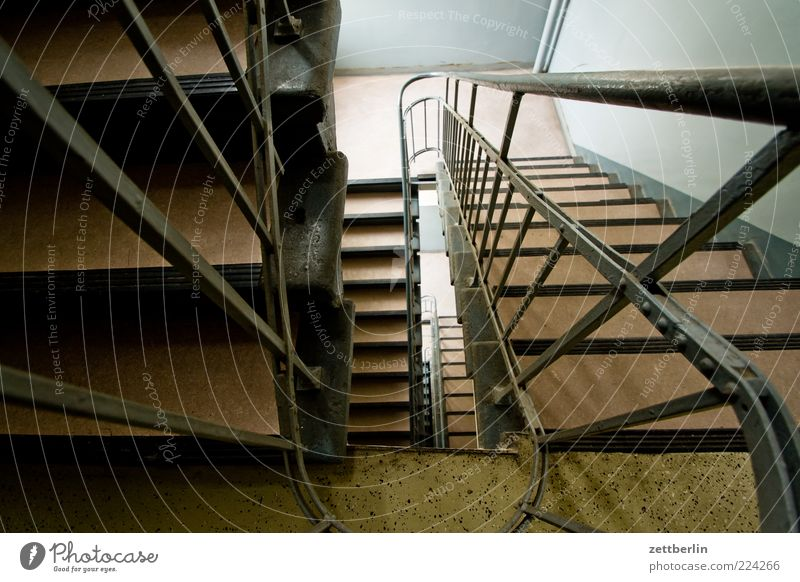 staircase Wall (barrier) Wall (building) Stairs Handrail Banister Landing Staircase (Hallway) House (Residential Structure) Building Descent Downward Upward