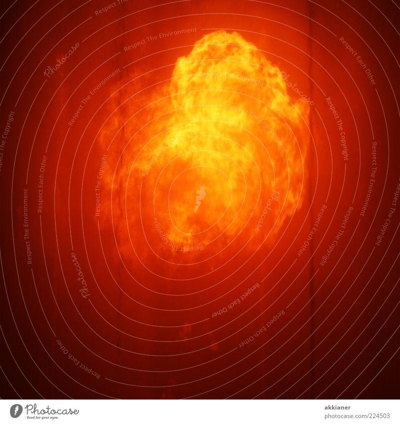 Yellow Warmth Bright Orange Gold Fire Wild Threat Elements Hot Massive Fireball