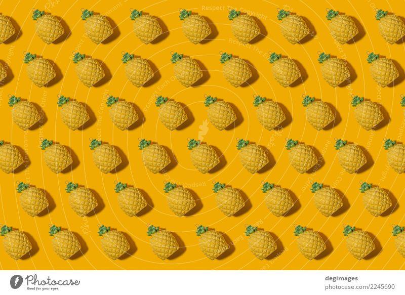 Pineapple pattern Nature Summer Colour White Yellow Natural Style Fashion Design Fruit Decoration Fresh Mature Top Conceptual design Juicy
