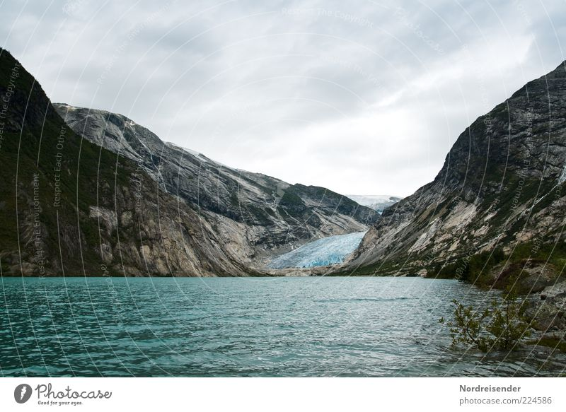 Vacation & Travel Far-off places Cold Freedom Mountain Environment Coast Trip Esthetic Climate Natural Travel photography Bay Glacier Norway Climate change