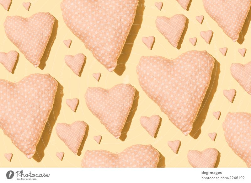 Heart pattern Design Decoration Wallpaper Feasts & Celebrations Valentine's Day Art Paper Love Bright Pink Red Romance Colour background valentine Consistency