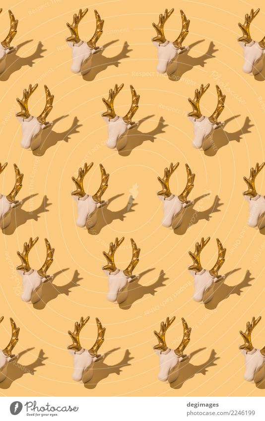 Deer repeated Design Winter Decoration Christmas & Advent Fashion Cloth Ornament Retro Red White Tradition background christmas textile Repeating Nordic