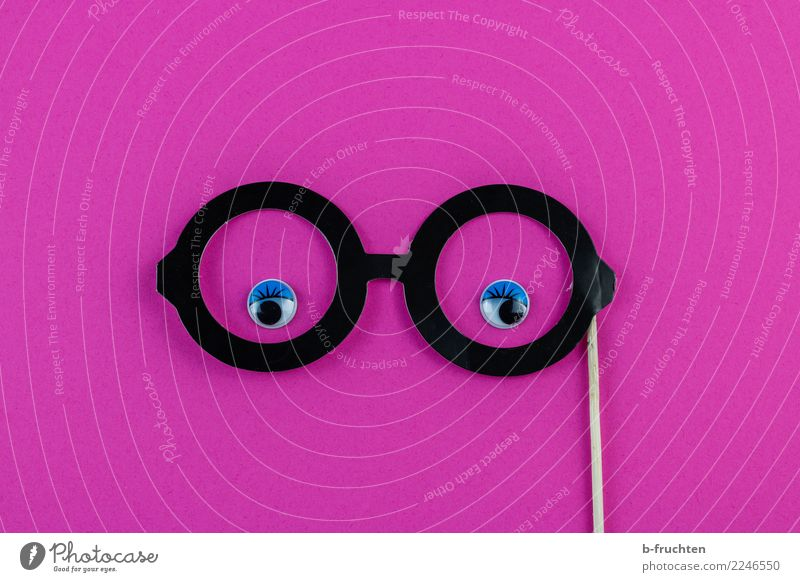 feminine Feminine Woman Adults Face Eyes Eyeglasses Paper Observe Looking Brash Happiness Round Pink Contentment Self-confident Idea Identity Requisite Gender