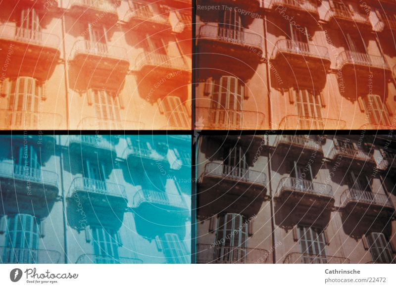 Vacation & Travel Europe Spain Majorca Old town Housefront Palma de Majorca