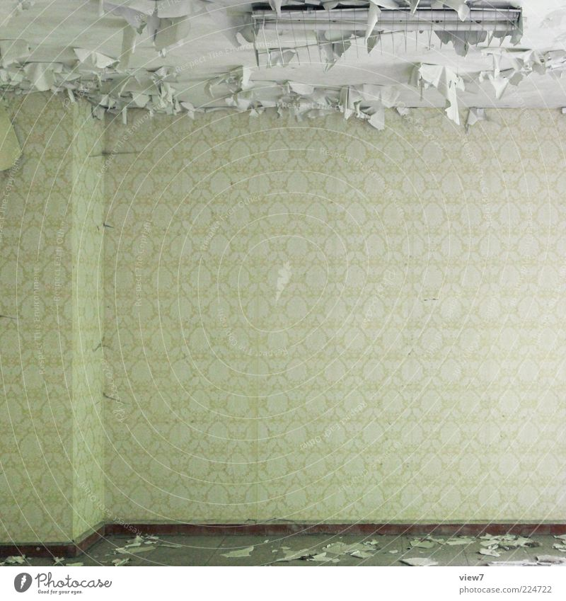Old Wall (building) Above Wall (barrier) Moody Small Lamp Room Time Concrete Esthetic Interior design Broken Decoration Sign Wallpaper