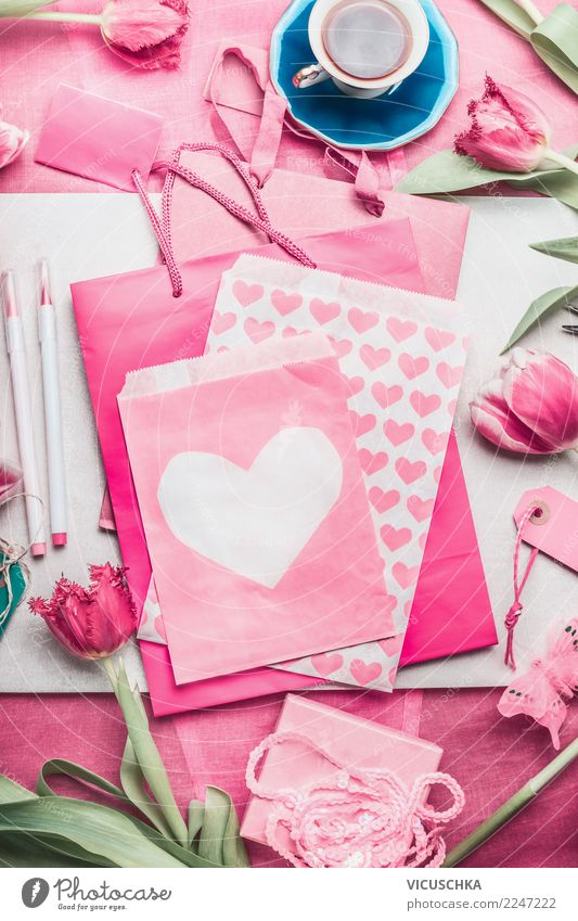 Make a greeting card for mothers, Valentine's Day or your birthday Shopping Style Design Decoration Table Feasts & Celebrations Mother's Day Wedding Birthday