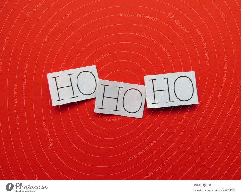 HOHOHO Characters Signs and labeling Communicate Sharp-edged Red Black White Emotions Moody Joy Anticipation Together Curiosity Society Surprise Hohoho