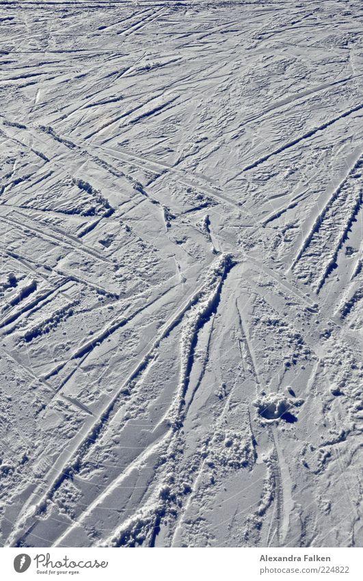 Cold Snow Ice Skiing Frost Tracks Frozen Winter sports Holiday season Ski run Snow track
