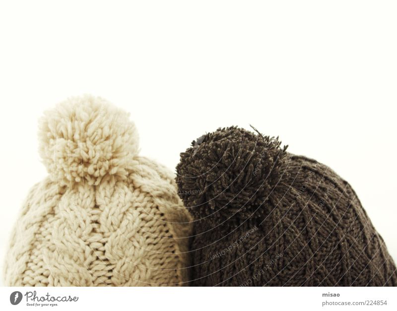 Human being Sky White Winter Snow Happy Head Dream Bright Friendship Brown Together Contentment Clothing Safety