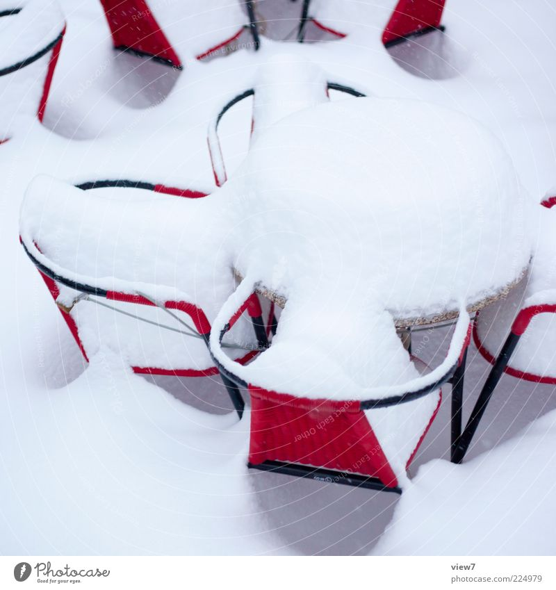 Red Winter Cold Snow Above Environment Moody Ice Modern Climate Table Frost Authentic Chair Simple Sign