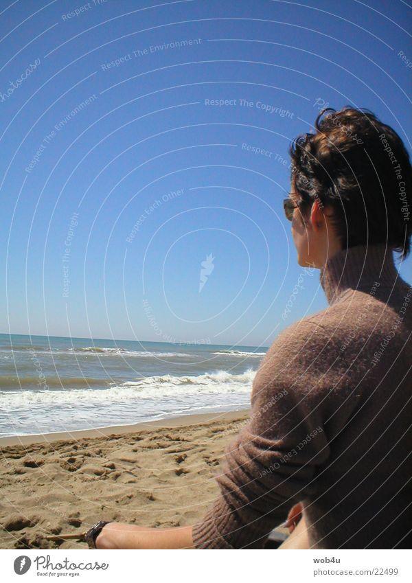meditation Meditation Beach Ocean Thought Woman