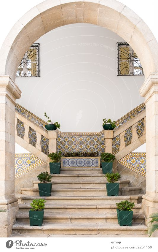 Guimarães Village House (Residential Structure) Dream house Palace Architecture Wall (barrier) Wall (building) Stairs Facade Tourist Attraction Exotic Mosaic