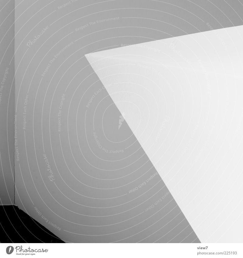 White Line Room Flat (apartment) Dirty Elegant Background picture Design Arrangement Modern Esthetic Fresh Empty Perspective Interior design Authentic
